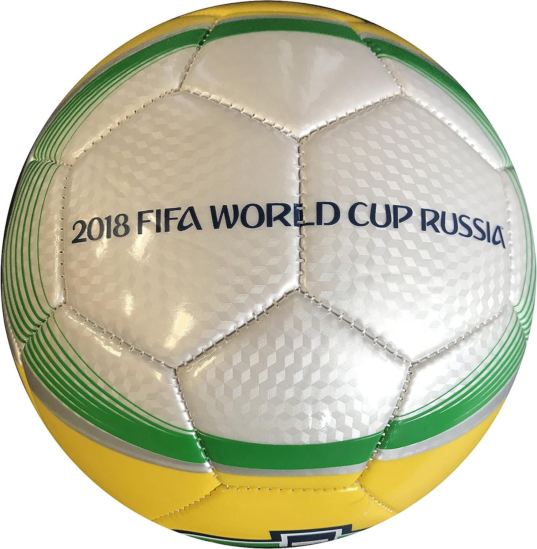 Icon Sports World Cup 2018 Brasil - Balón de fútbol: Amazon.es ...