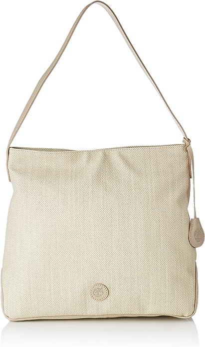 TIMBERLAND Damen Tasche Handtasche Leder braun Schultertasche