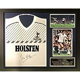 4ea8cffae Allstarsignings Glenn Hoddle signed and framed 1986 Tottenham Hotspur  football shirt with COA and proof.