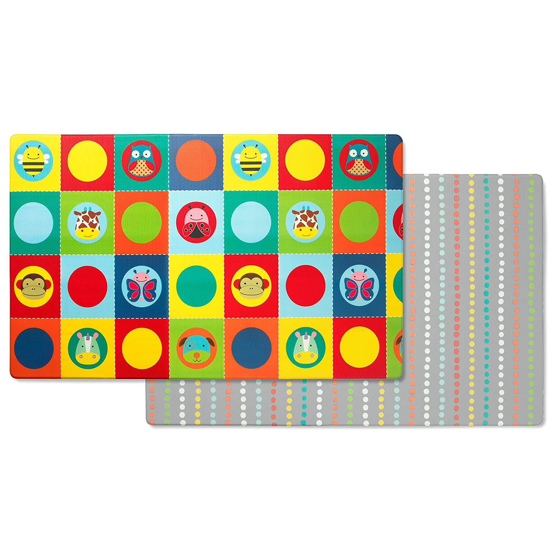 SKIP HOP Skip Hop Zoo Reversible 243101 Playmats, Multi-Colour   B07B14RJR4