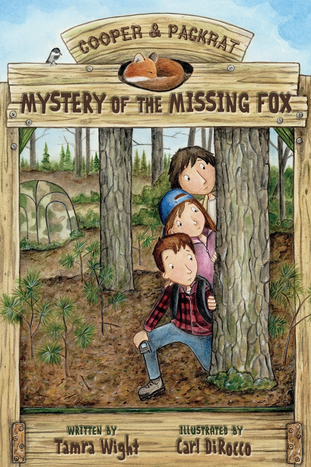Mystery of the Missing Fox (Cooper and Packrat) by Islandport Press (Image #1)
