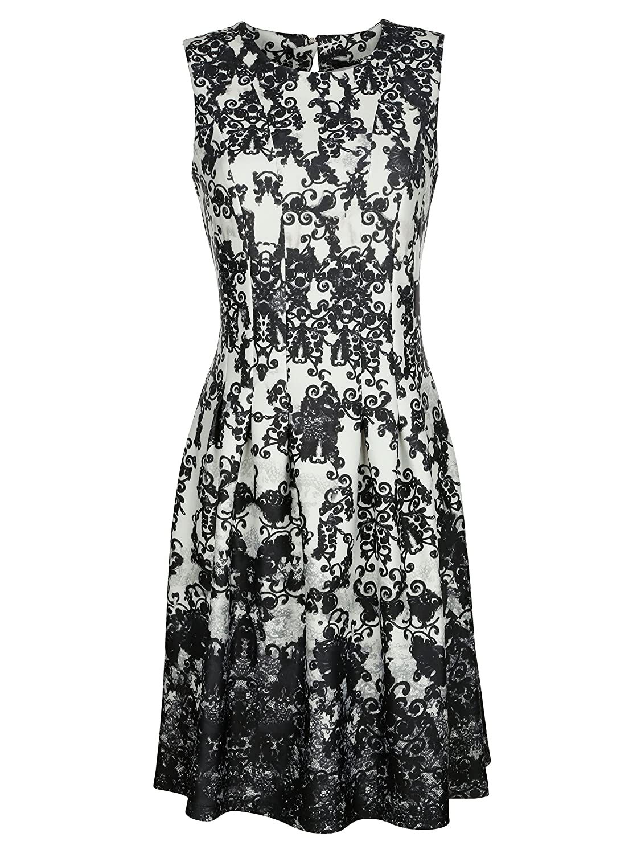 Damen Jerseykleid in ausgestellter Form by AMY VERMONT