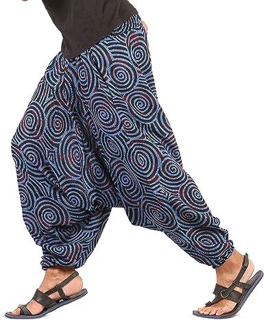 Pink Harem Pants Ohm Print Hippie Pants Loose Yoga Pants Boho Pants Gypsy Pants