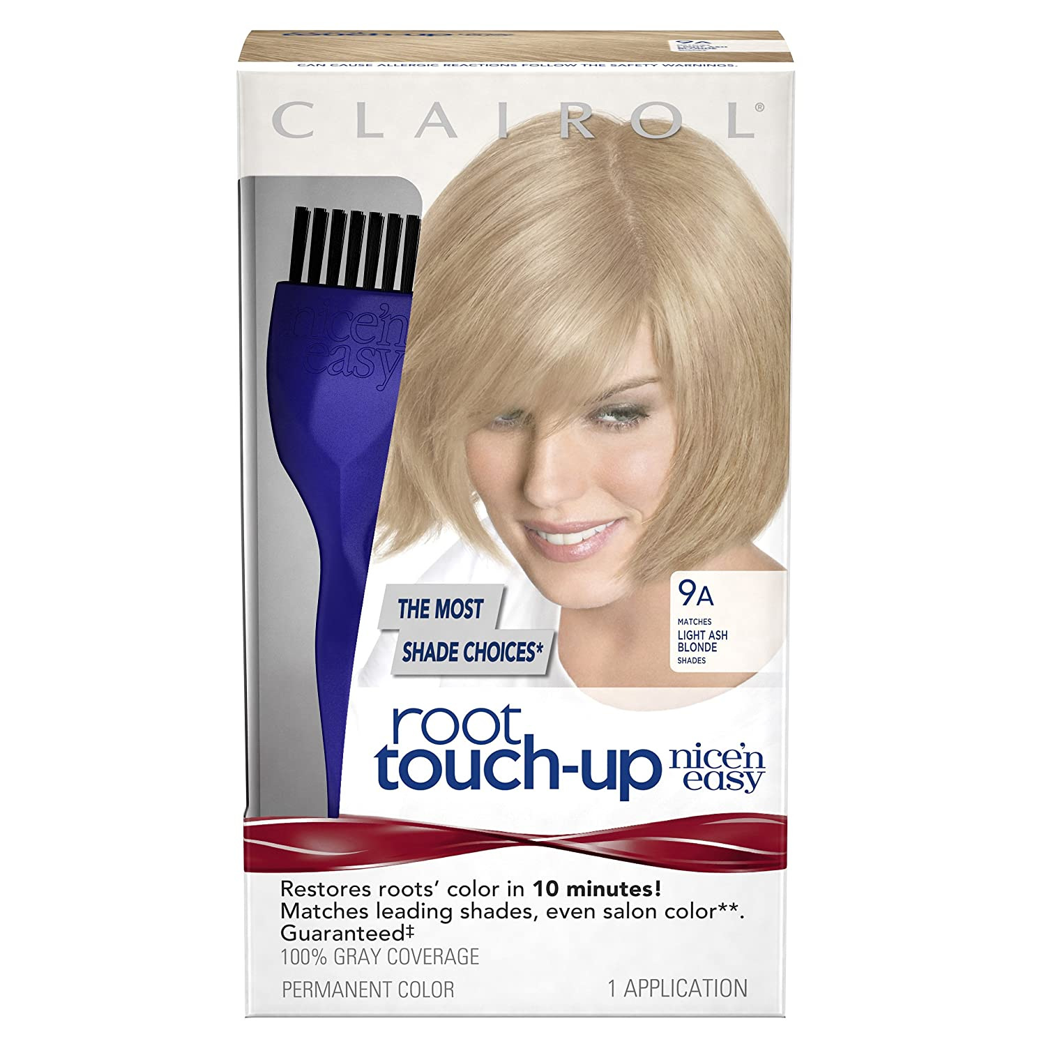 Amazon.com: Clairol Nice \'n Easy Root Touch-Up 9A Light Ash Blonde 1 ...