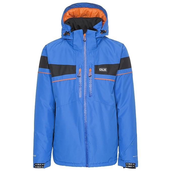 Trespass - Chaqueta para Esquiar Impermeable Modelo Pryce DLX para Hombre (XS/Azul)