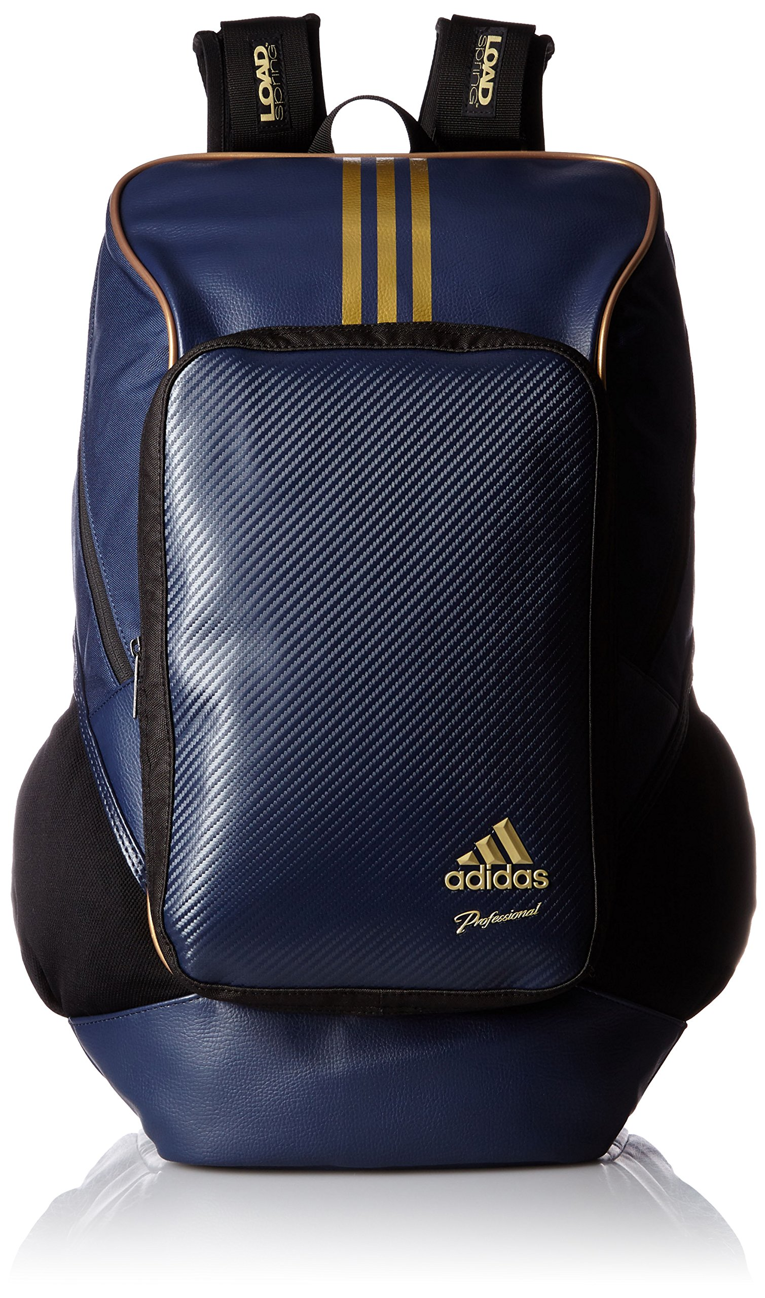 adidas Professional backpack BIN37 AP2768 (College Navy / Gold Met) by adidas (Image #1)