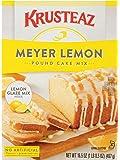 Krusteaz Meyer Lemon Pound Cake Mix with Lemon Glaze Mix, 16.5 OZ (Pack of 2)