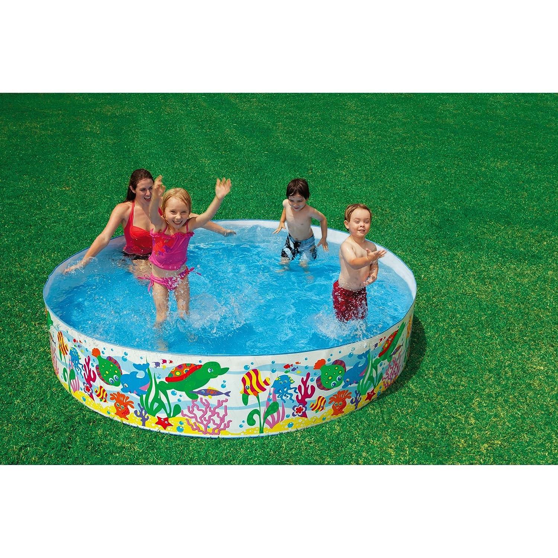 Inflatable Slide Kmart: Slip & Slide Pool. : ExpectationVsReality