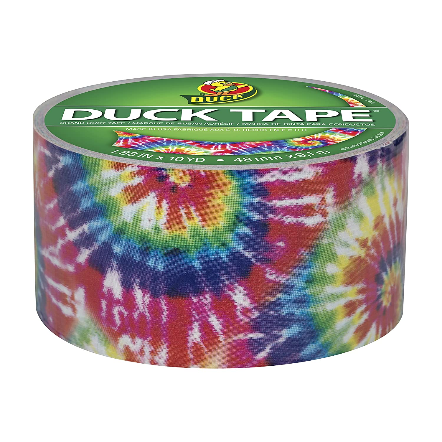 Glues, Epoxies & Cements Adhesives, Sealants & Tapes Duck 283268 Colored Duct Tape Love Tie Dye To Adopt Advanced Technology