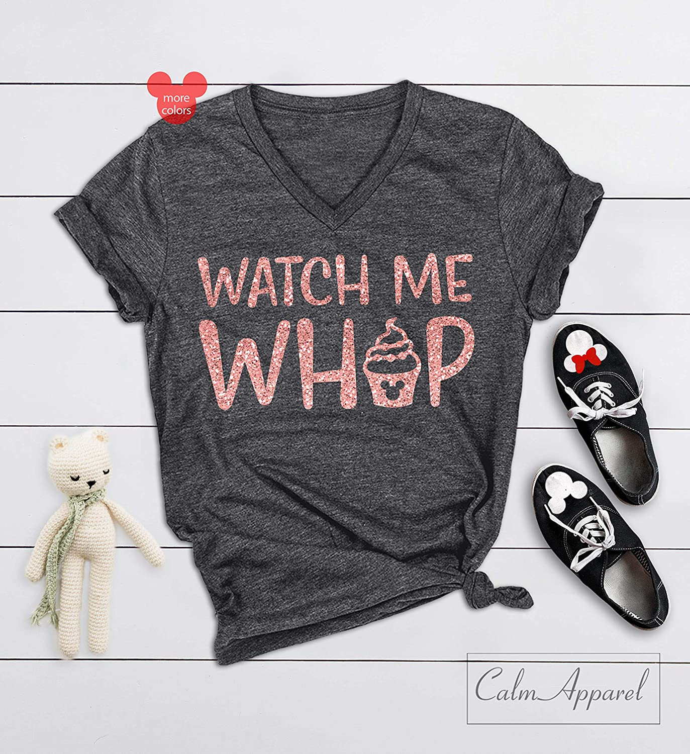 dd6d1846 Amazon.com: Watch Me Whip Shirt, World Trip Shirts, Ladies Fun T-Shirts,  Matching Vacation Tees, Summer Workout Muscle Tanks: Handmade