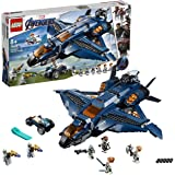 LEGO 76126 Marvel Avengers Ultimate Quinjet Plane, Super Heroes Playset Includes Black Widow, Hawkeye, Rocket and Thor…