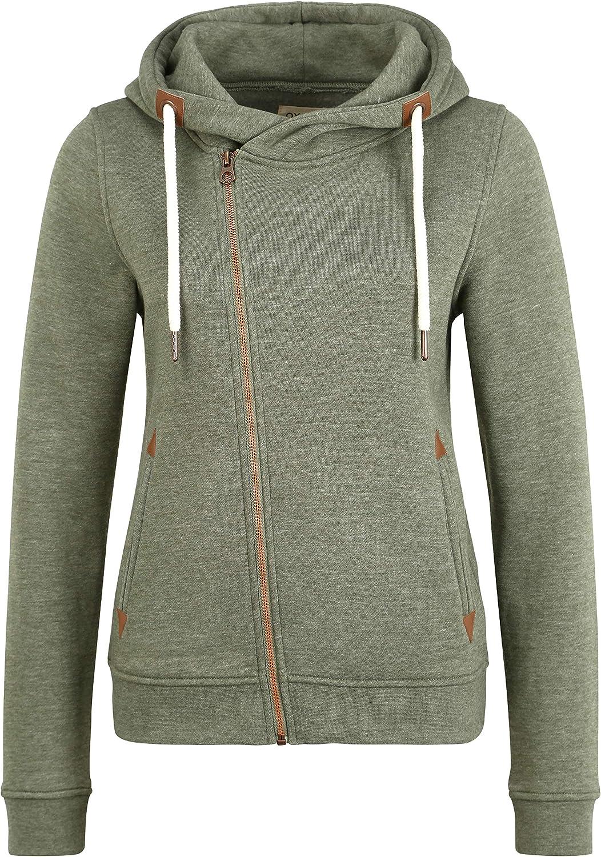uni Basique Hoodie Happy Clothing Sweat-Shirt /à Capuche Femme Zip