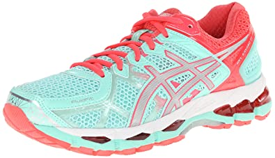 brand new 2ed55 9b7f2 ASICS Women s Gel-Kayano 21 Beach Glass Silver Pink Diva 5 B -