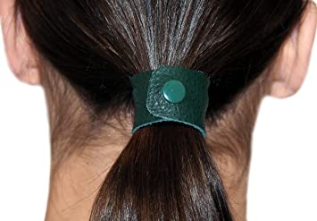 Amazon.com   Hunter Green hair tie by Hairtyz (single piece ... d7341844938