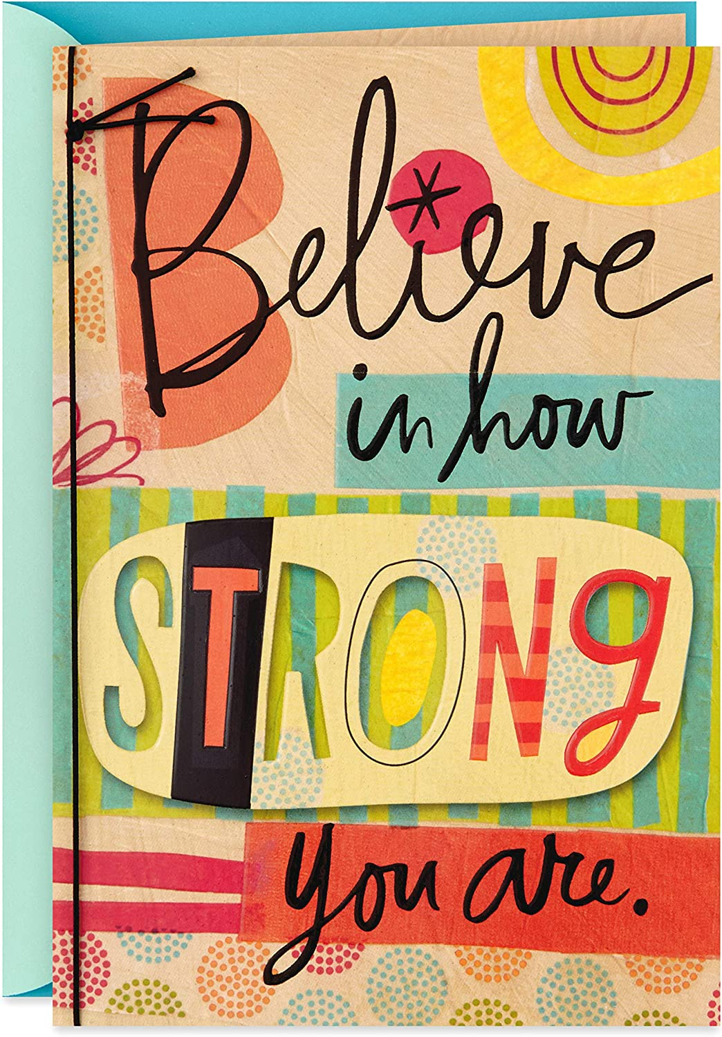 Hallmark Encouragement Card (Believe in How Strong You Are) (0399RZB1239)
