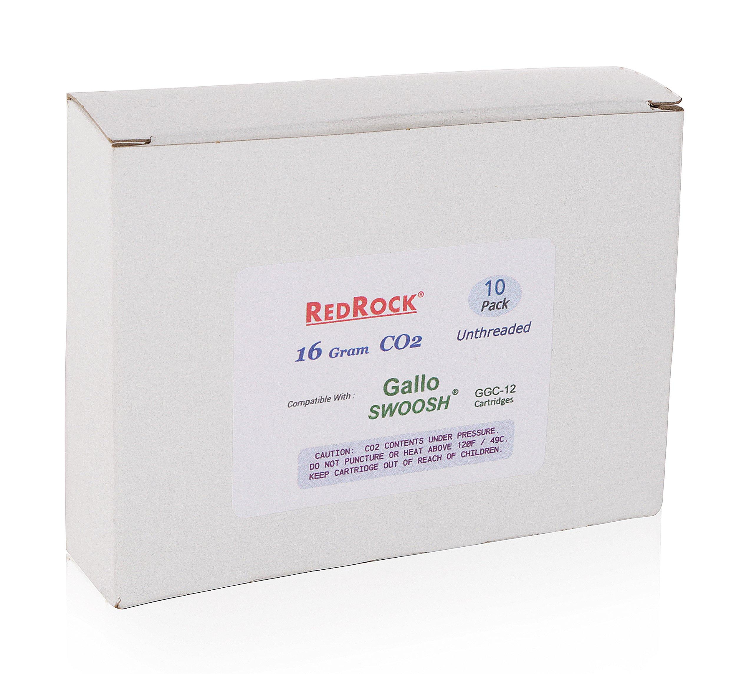 RedRock 16 Gram CO2 Gallo Swoosh Gun Cartridges - 10 Pack by RedRock