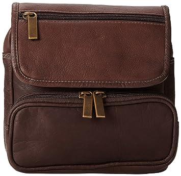 0c109aa1da0b David King & Co. Large Double Pocket Waist Pack, Cafe, One Size