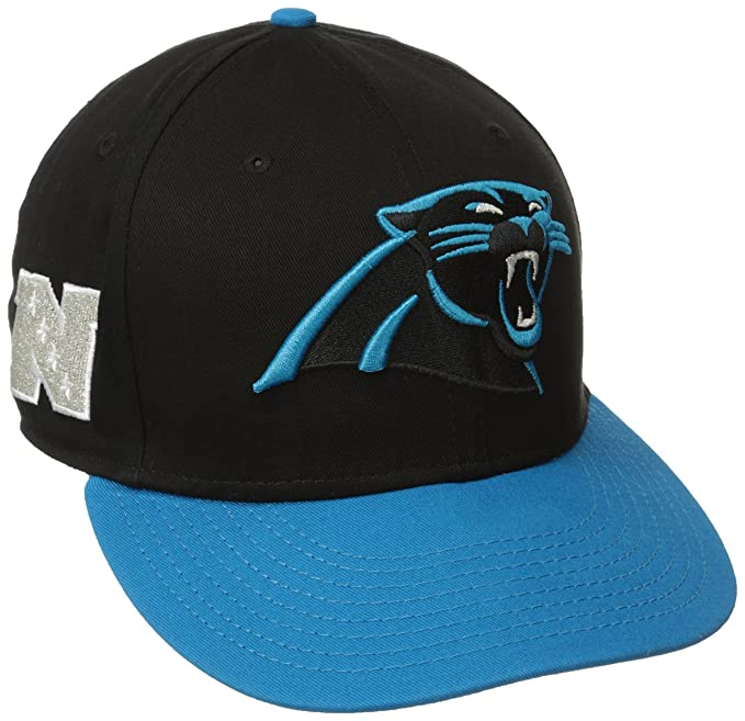 Amazon.com   NFL Carolina Panthers Baycik 9Fifty Snapback Hat   Sports Fan  Baseball Caps   Clothing c886baa9441