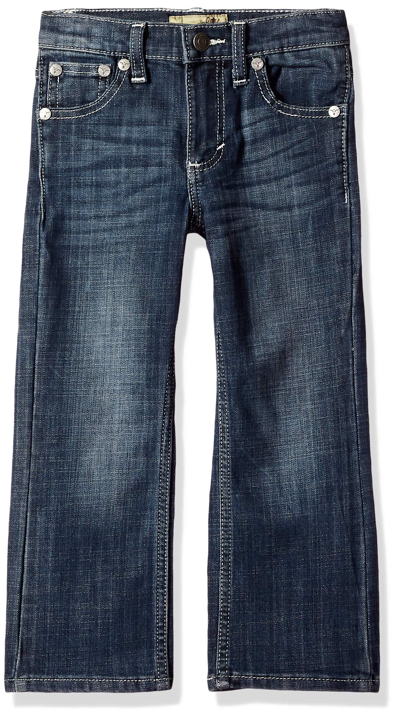 Wrangler Boys' Big 20X Vintage Boot Cut Jean, Glasgow, 16 Husky