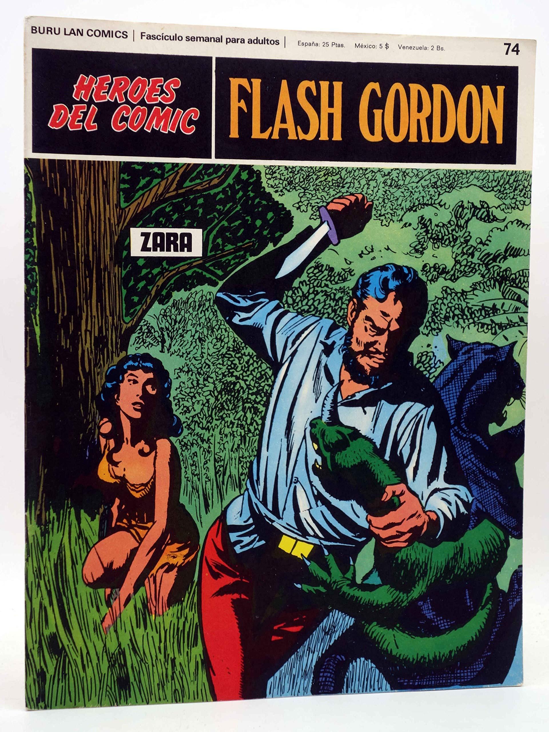 HEROES DEL COMIC. FLASH GORDON 74. Zara. Burulan Buru Lan: Amazon.es: Alex Raymond: Libros