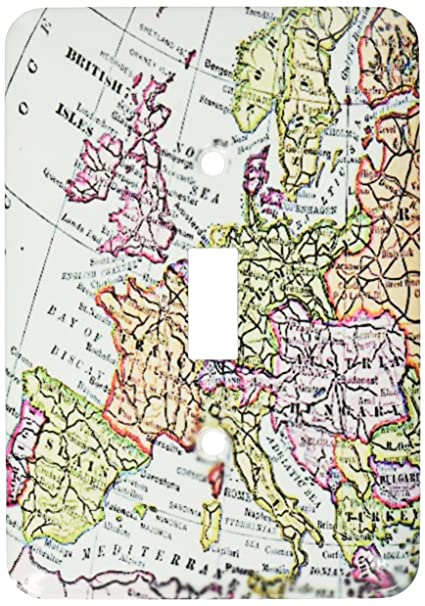 Map Of Western France.3drose Lsp 112938 1 Vintage European Map Of Western Europe Britain