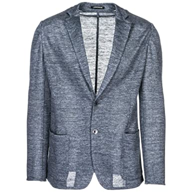 foto ufficiali d98e6 0c2cd Emporio Armani Men Blazer - Grigio 40 US at Amazon Men's ...