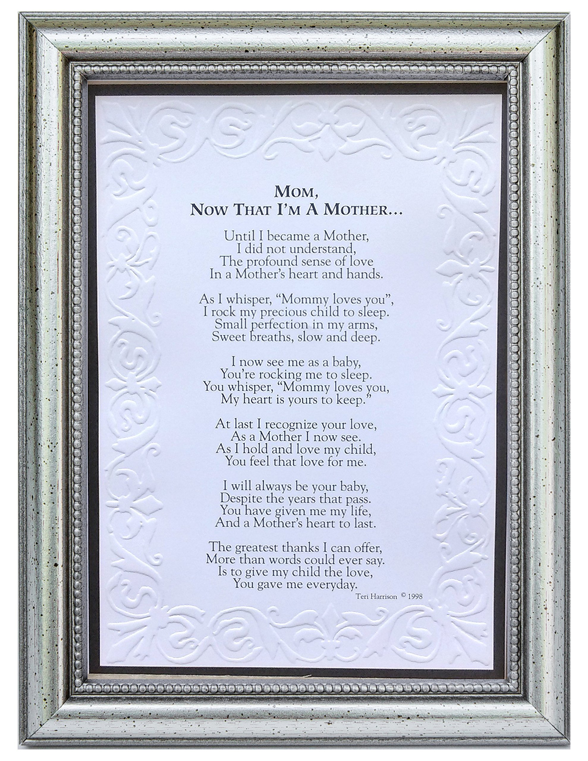 The Grandparent Gift Now That I'm a Mother Frame Gift for Mom from Daughter