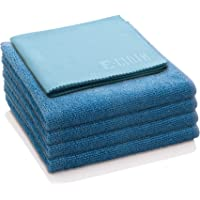 E-Cloth Home Set Microfiber Cleaning Cloth, Set of 5, Alaskan Blue
