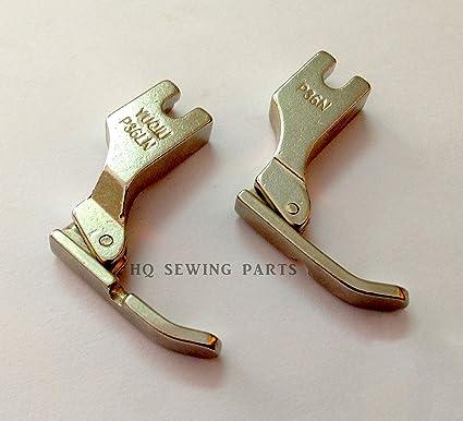 Industrial Máquina de coser Cordón cremallera pie p36ln/p36 N (Izquierdo y Derecho)