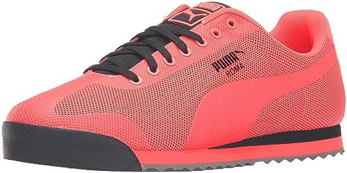 Zapatillas de deporte Roma Hm Fashion, Rojo Blast / Puma Black, 11 M US: Amazon.es: Zapatos y complementos
