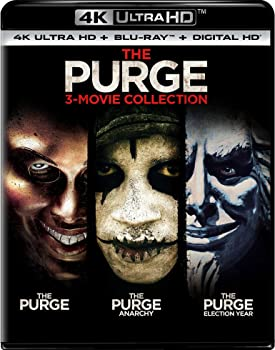 The Purge: 3-Movie Collection on Blu-ray Combo