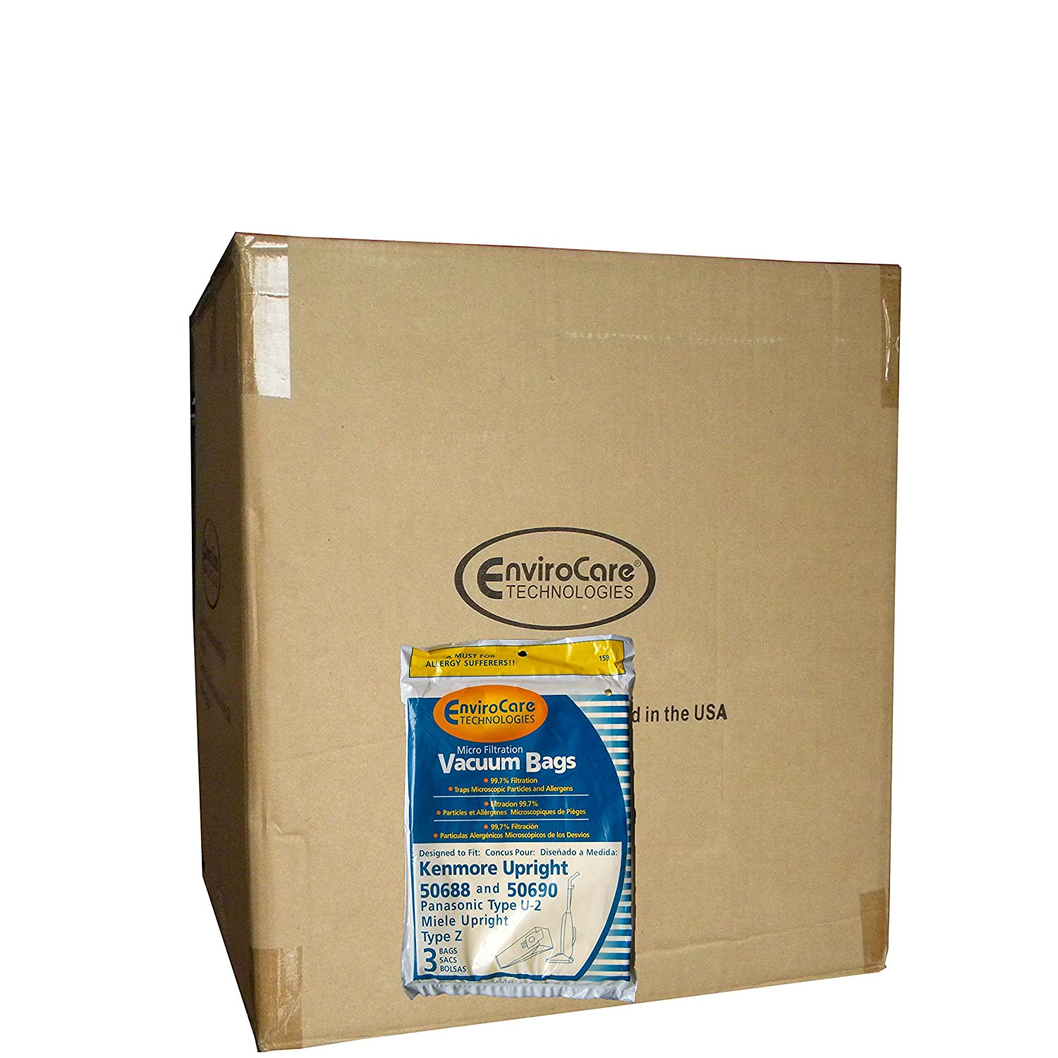 Amazon.com - 150 Kenmore Sears 50688/50690 U Vacuum Bags ...