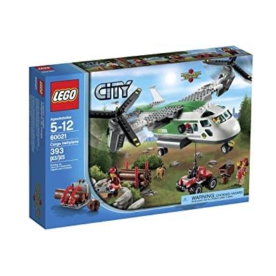 LEGO City 60021 Cargo Heliplane Toy Building Set: Toys & Games