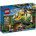 LEGO City Jungle Explorers Jungle Cargo Helicopter Building Kit