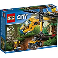 LEGO City Jungle Explorers Jungle Cargo Helicopter Building Kit