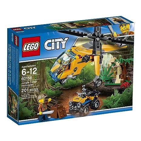 Amazon Lego City Jungle Explorers Jungle Cargo Helicopter 60158
