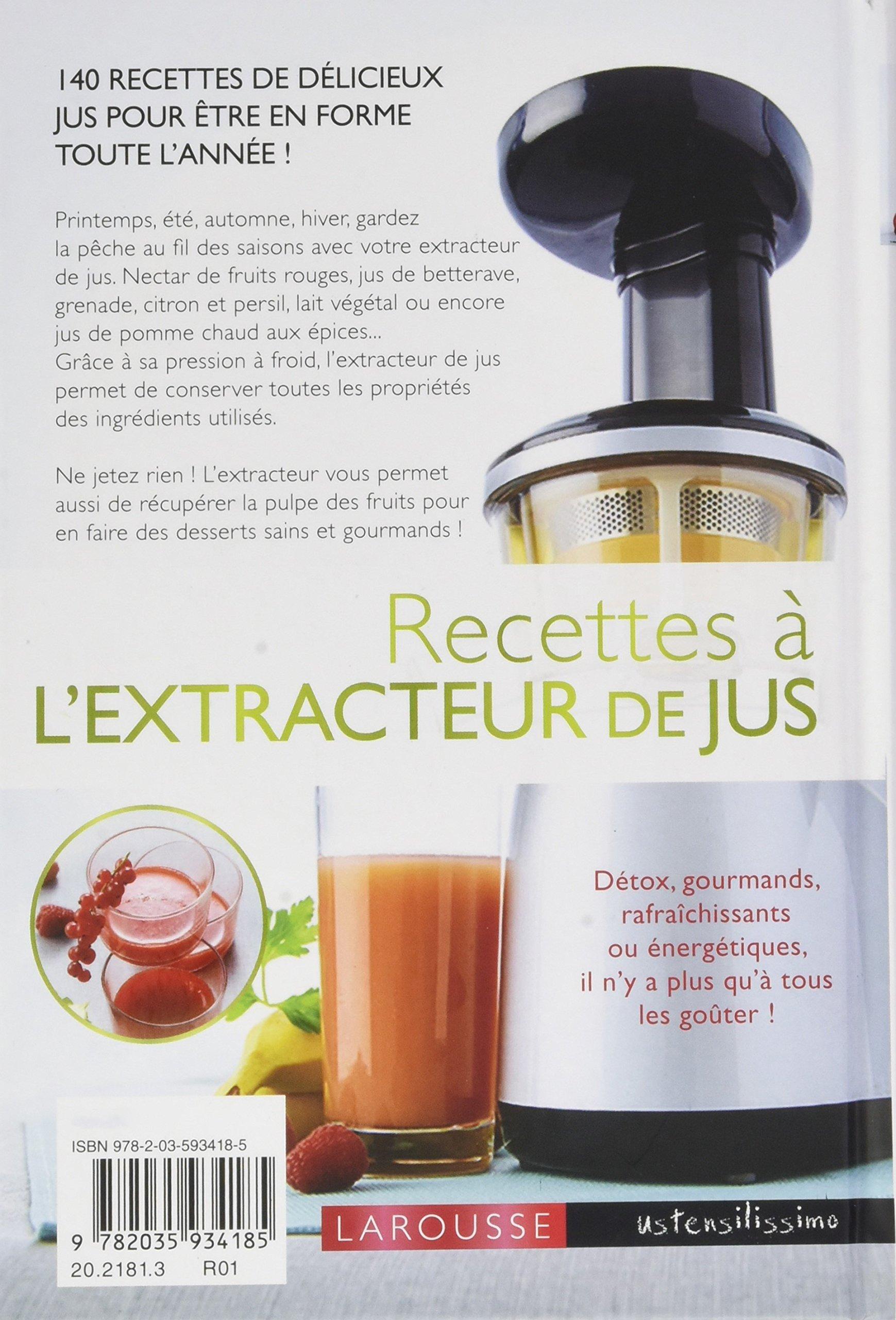 Jus avec extracteur amazing panier with jus avec extracteur cool agrandir de couverture with - Extracteur de jus amazon ...