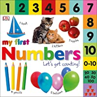 Tabbed Board Books: My First Numbers: Let's Get Counting!
