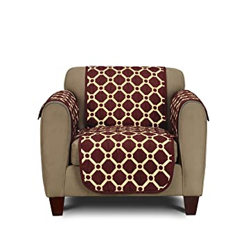 Astounding Stylemaster Home Products Peyton Reversible Furniture Throw Chair Wine Ocoug Best Dining Table And Chair Ideas Images Ocougorg