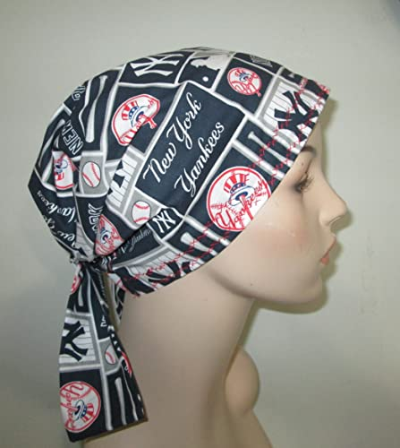 Amazon.com  Scrub Chemo Cap NY Yankees  Handmade c9f4dbd98af