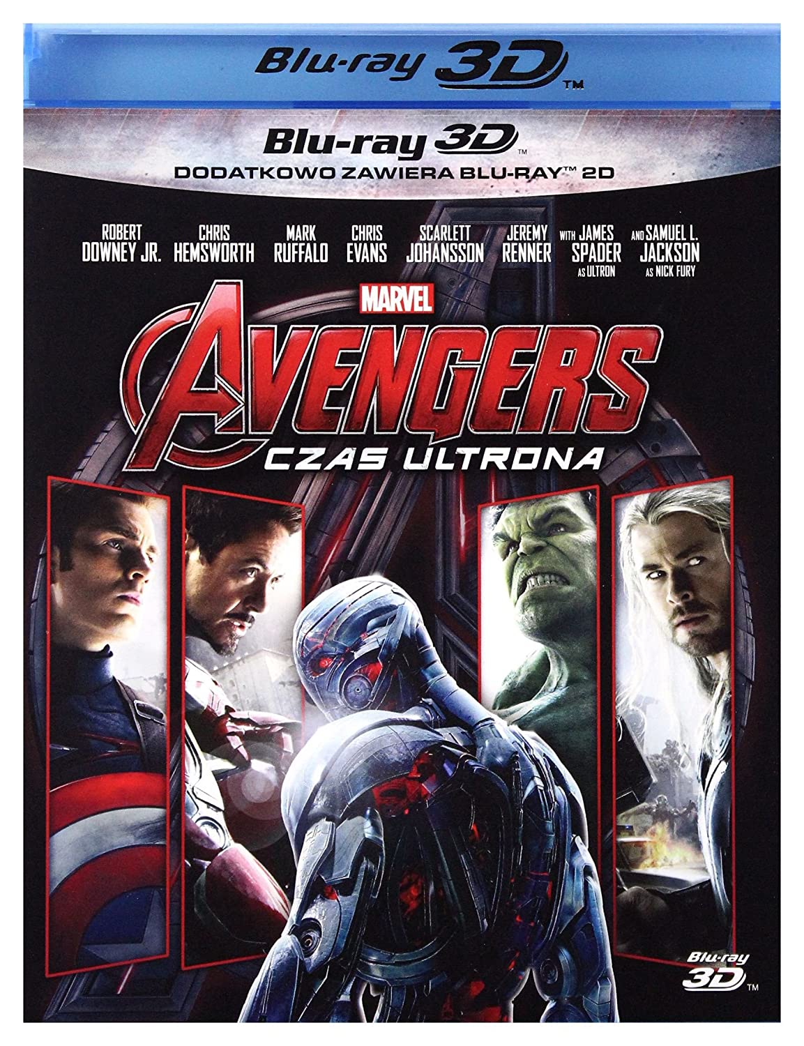 Avengers: Age of Ultron Blu-Ray + Blu-Ray 3D Region B IMPORT No ...