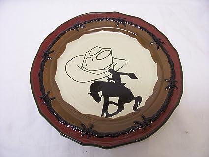 b211f5d3c Amazon.com : Sonoma Life+style Happy Trails Cowboy Hat, Bronco Salad ...
