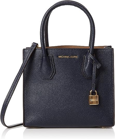 Michael Michael Kors Mercer Medium Messenger Admiral One Size Handbags Amazon Com