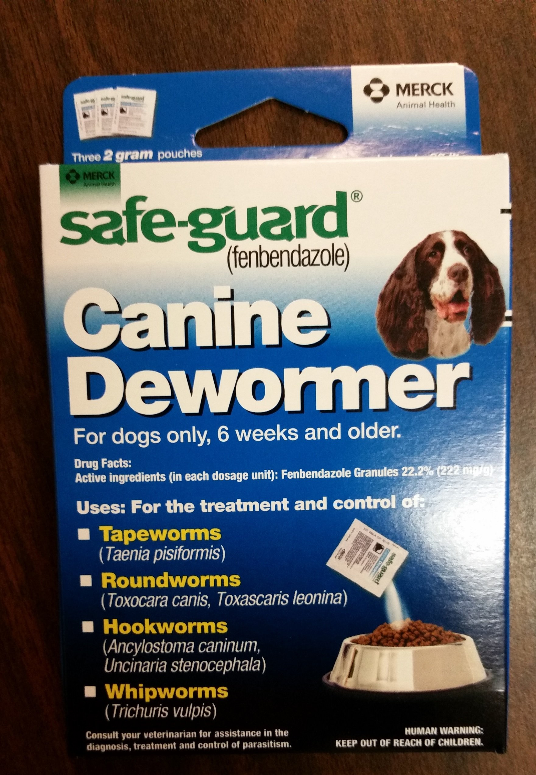 8in1 Safeguard Wormwer For Medium Dogs 2gram by 8 In 1 Pet Products