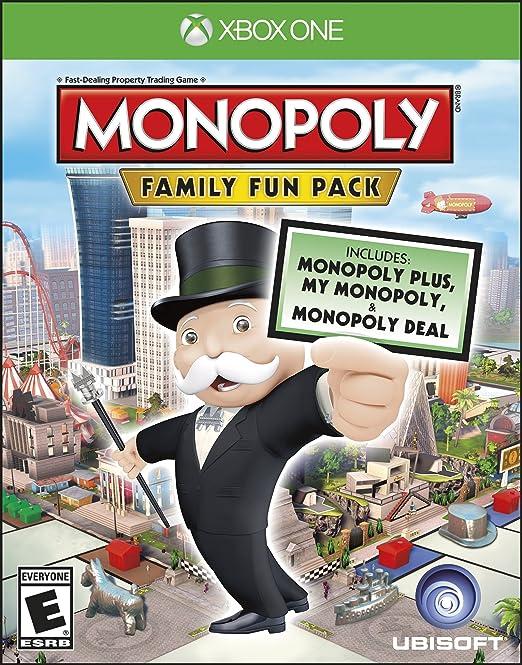 Ubisoft Monopoly Family Fun Pack, Xbox One - Juego (Xbox One, Xbox One, Familia, E (para todos)): Amazon.es: Videojuegos