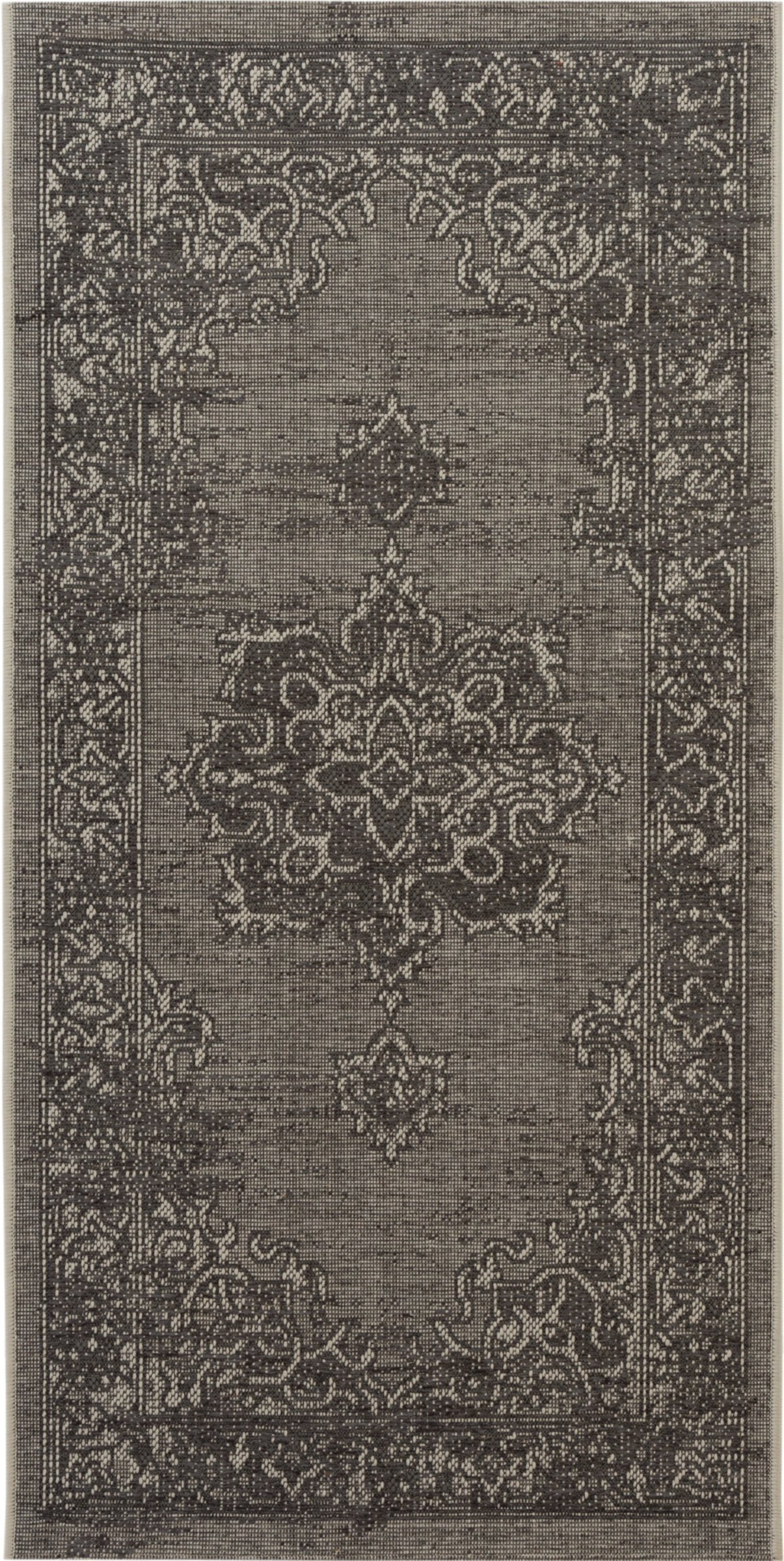 Safavieh Palazzo Collection PAL124-78124 Light Grey and Anthracite Area Rug (2'6'' x 5')