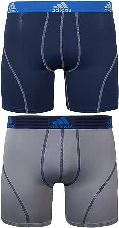 adidas Men's Sport Performance Boxer Briefs Underwear (2 Pack)