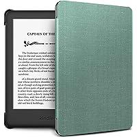 Infiland Estuche Kindle 2019 (10ª generación - Modelo 2019) - Función de Despertador/Reposo automático - Estuche de Cuero Ultra Delgado y liviano para Amazon Kindle 2019 - Menta Verde