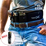 Belly Band Holster for Active Concealed Carry | Universal Design | IWB/OWB Pistol Belt | RFID Blocking Water Proof Zipper Gea