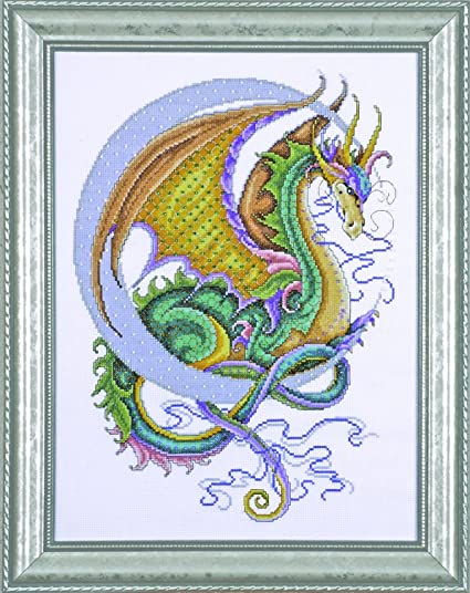 DRAGON DREAMS CROSS STITCH CHART BN!